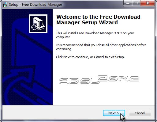 instalación free download manager