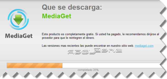 proceso instalacion mediaget