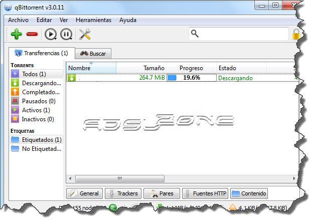 transferencias archivos qbittorrent