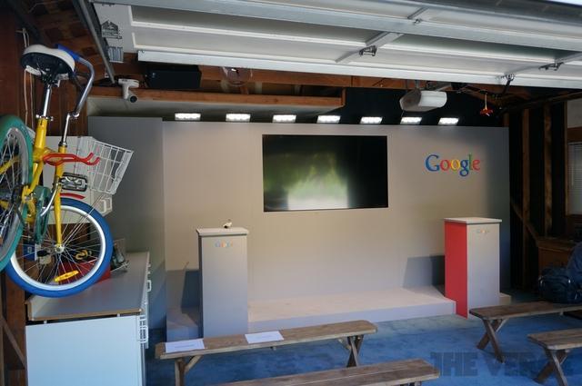 Garaje de Google  (The Verge)