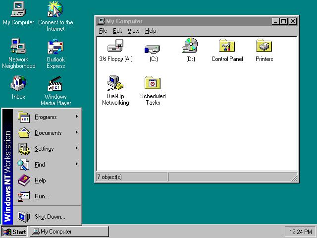 Windows 4 nt