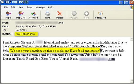 correo-fraudulento-tragedia-tifon-filipinas
