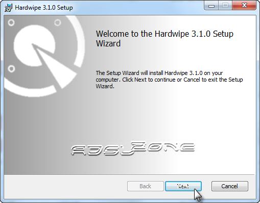 instalación de hardwipe