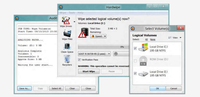 Evitar la recuperación de datos del disco duro con Hardwipe