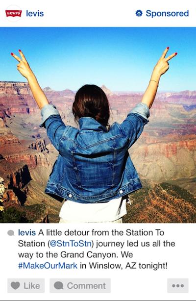 Anuncio de Levis