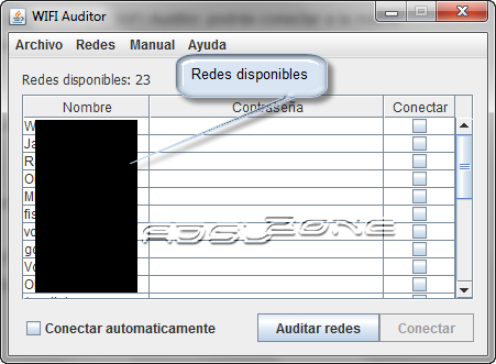 auditar red Wifi con Wifi Auditor