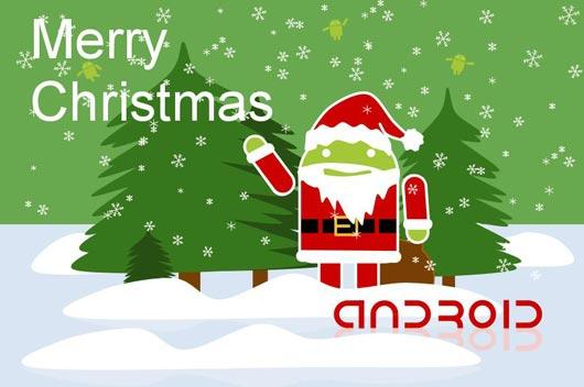 Android celebra la navidad