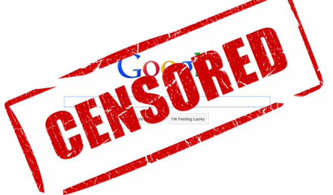 Censura en Google