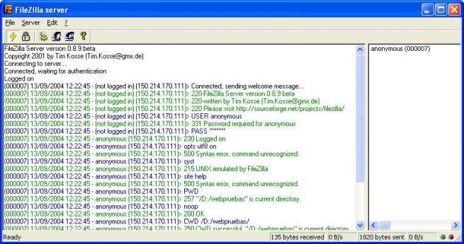 FileZilla_Server_foto_1