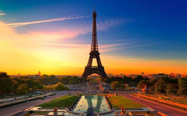 La Torre Eiffel, París.