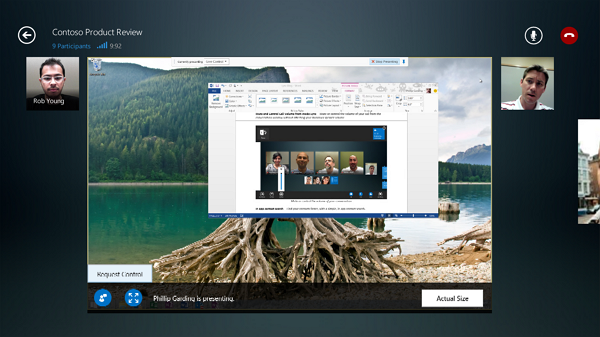 Lync en Windows 8.1