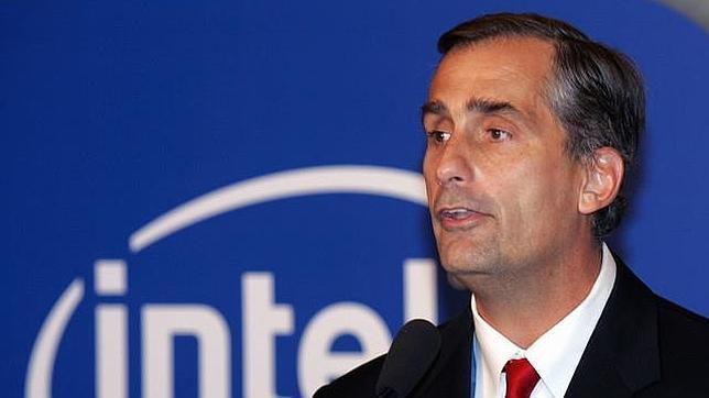 Brian Krzanich, director ejecutivo  de Intel