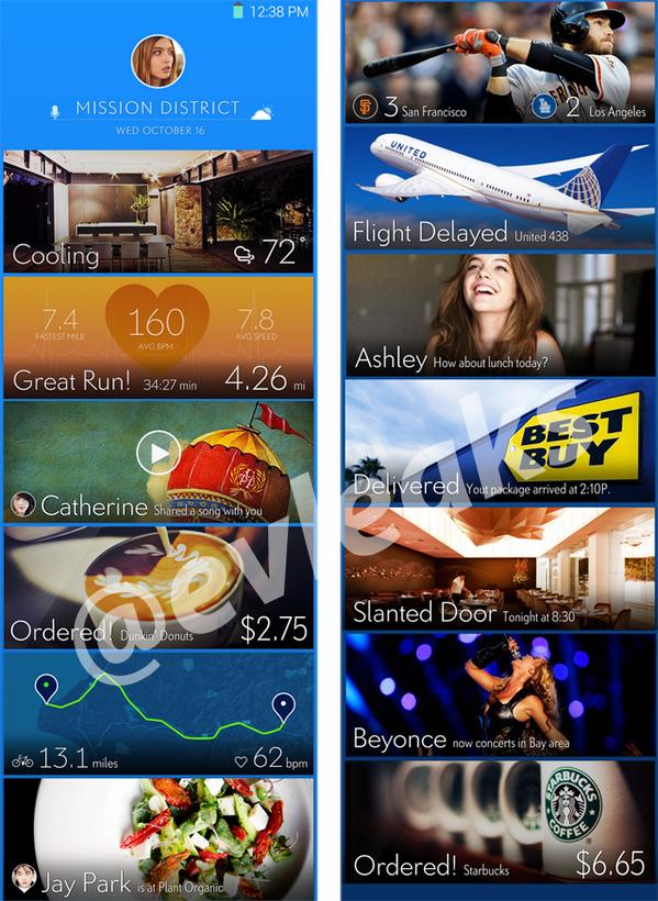 Home Screen del Galaxy S5
