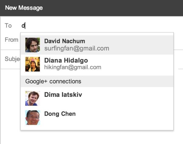 Nueva función de Gmail