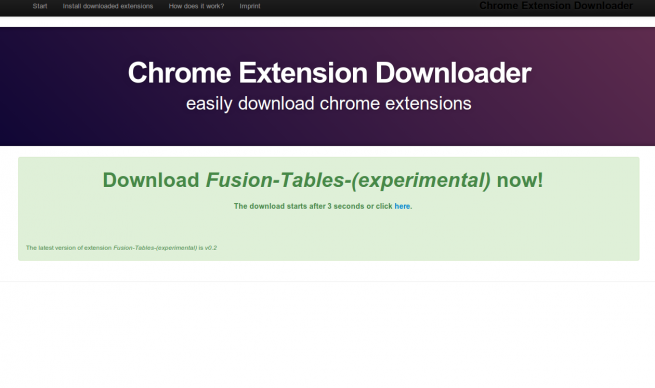 Chrome Extension Downloader foto 2