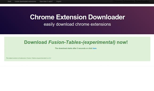 Chrome Extension Downloader foto 2