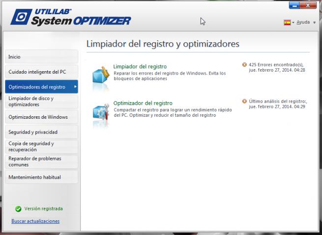 Utililab SystemOptimizer review foto 8