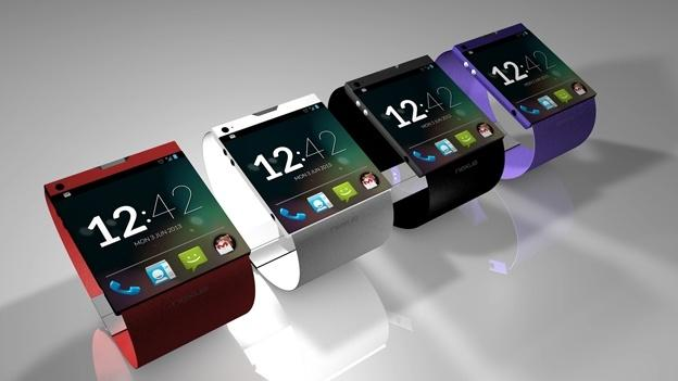 Prototipo de smarwatch de Google