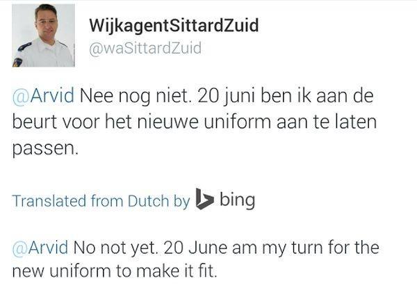 Traducción en Twitter