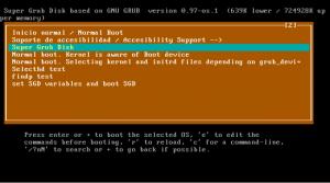 Linux Super Grub Disk foto