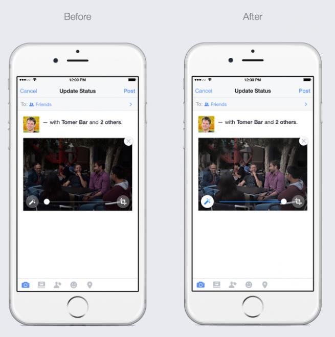 Facebook en iOS
