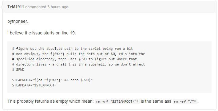 Error en Steam