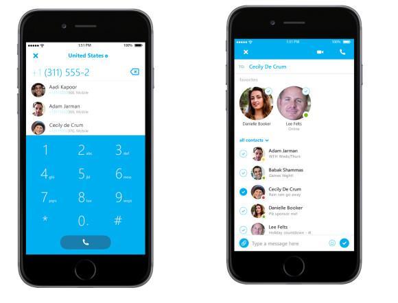 Nueva versión de Skype