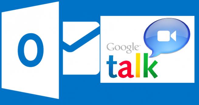 Google Talk y Outlook.com