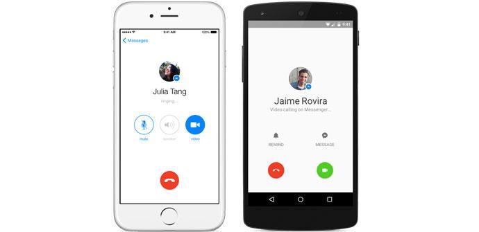 Facebook Messenger implementa las videollamadas