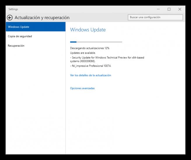Windows 10 Windows Update foto 2