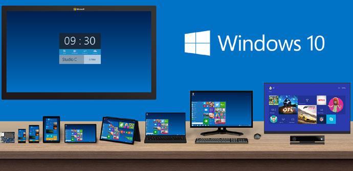 Varios productos de Microsoft con Windows 10