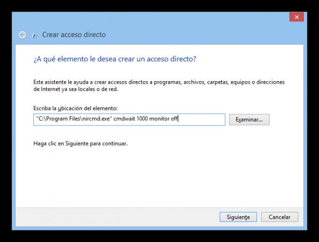 Acceso directo apagar monitor tutorial foto 2