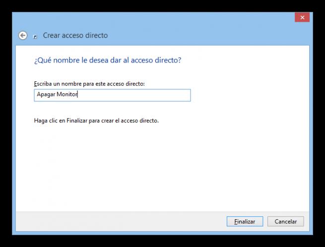 Acceso directo apagar monitor tutorial foto 3