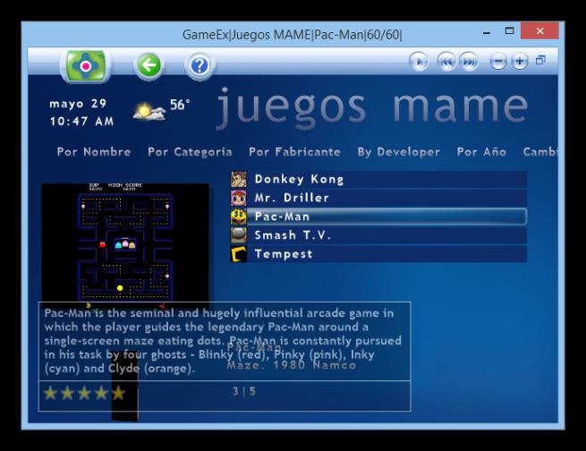 GameEx_videojuegos_retro_emuladores_foto_3