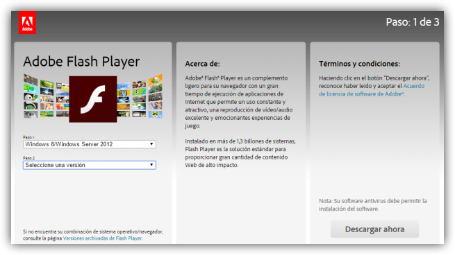 Adobe Flash Player foto