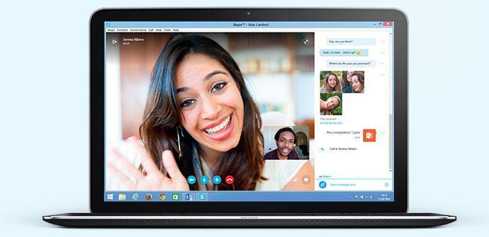 Skype en PC