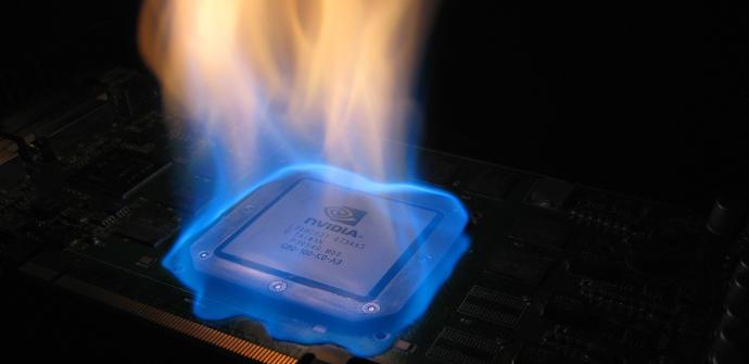 cpu on fire