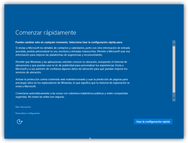 Configuracion inicial windows 10 tutorial foto 1