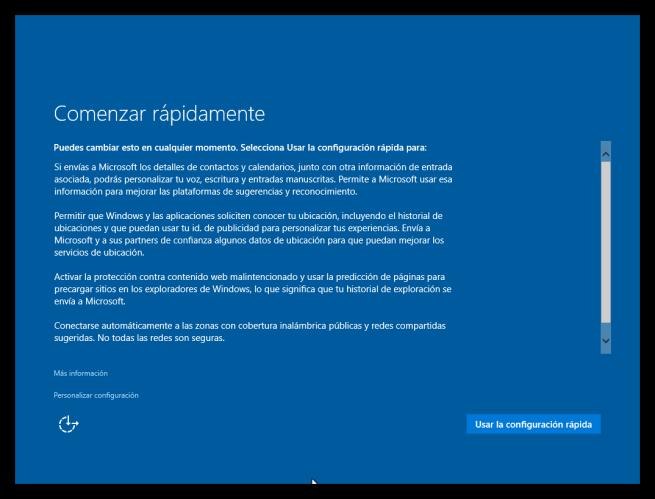 Configuracion inicial windows 10 tutorial foto 1