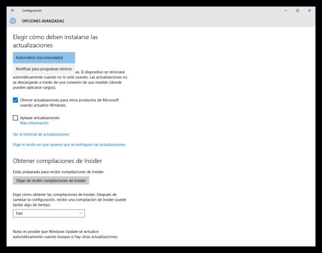 Cómo instalar las actualizaciones de Windows 10