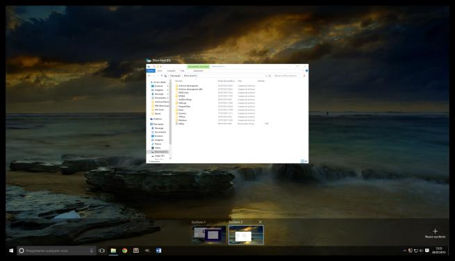 Windows 10 y los escritorios virtuales