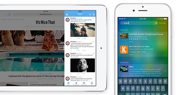 iOS 9, el último SO de Apple