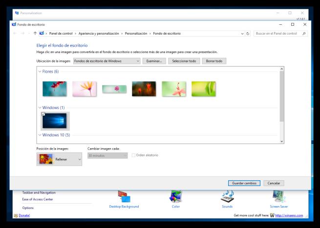 Personalizar apariencia como en Windows 7 en Windows 10 - Cambiar tema