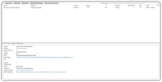 Torrent Tornado - Cliente torrent para Mozilla Firefox
