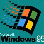 20 años de Windows 95, el primer menú Inicio