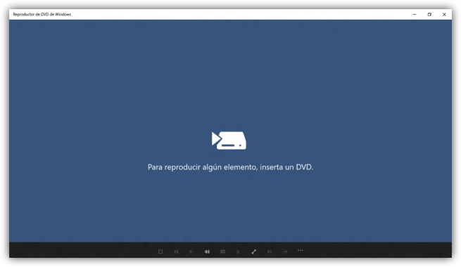 Captura de Windows DVD Player para Windows 10