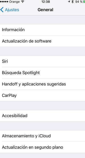 Actualizacion iOS 9