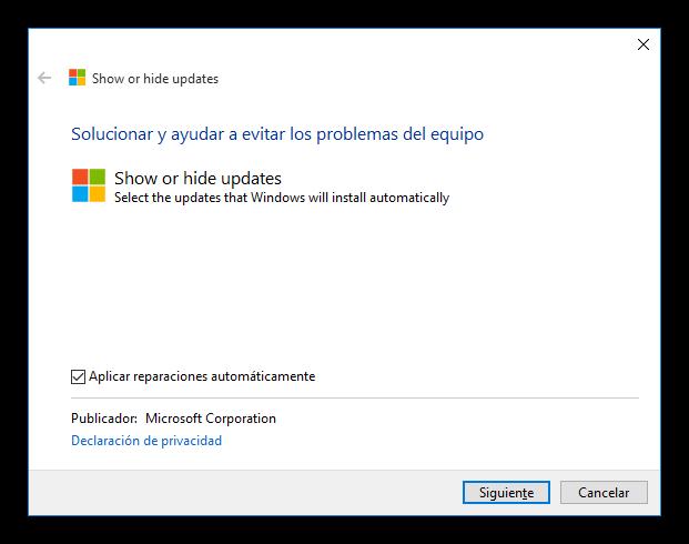 Bloquear actualizacion de drivers en Windows 10