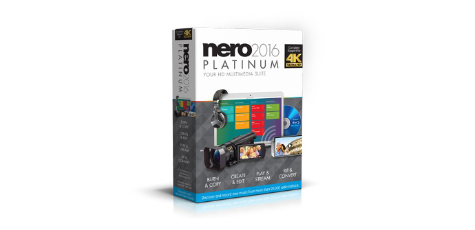 El nuevo Nero 2016 ya se encuentra disponible