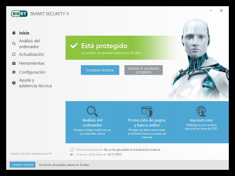 Eset Smart Security 10 O >> ESET 9, la nueva versión de este software de seguridad, ya se encuentra disponible